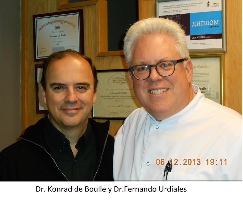 VISITA DEL DR. URDIALES AL DR. KONRAD DE BOULLE