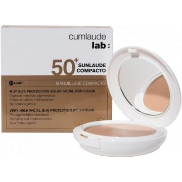 Sunlaude Compacto SPF50 Color 01 Light Rilastil Cumlaude Lab