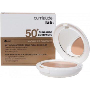 Sunlaude Compacto SPF50 Color 01 Light Rilastil Cumlaude Lab