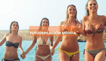 Promoción Fotodepilación Médica