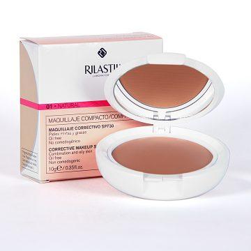 Coverlab Maquillaje Compacto Pieles Mixtas / Grasas Tono 01