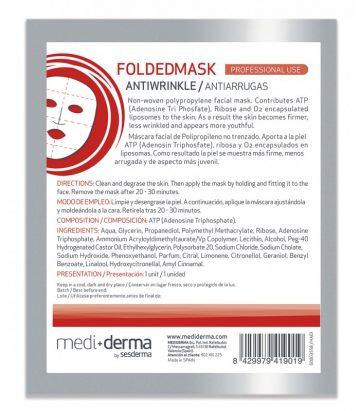 Mediderma Mascarilla Folded Mask Antiarrugas