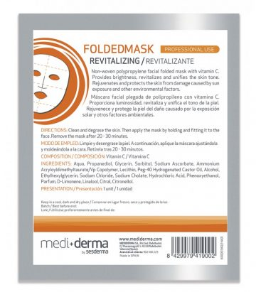 Mediderma Mascarilla Folded Mask Revitalizante