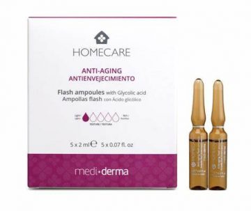 Mediderma Homecare Antiaging Ampollas Flash