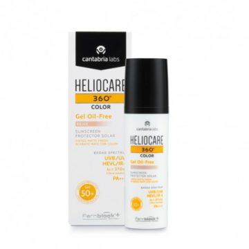 Heliocare 360 Gel Oil Free Beige SPF50