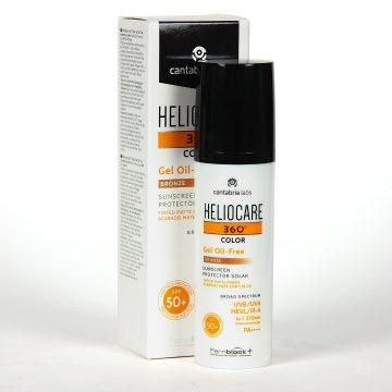 Heliocare 360 Gel Oil Free Bronze SPF50